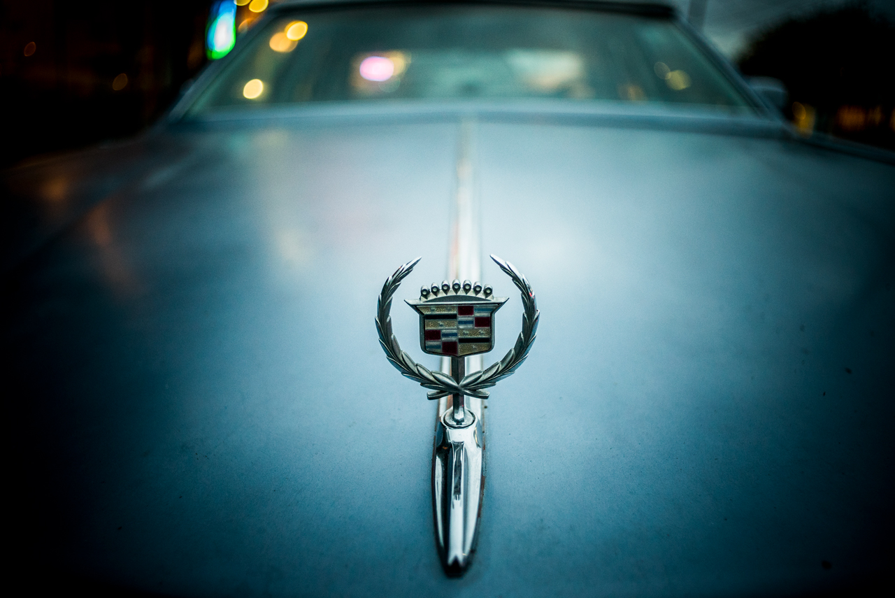Cadillac hood ornament